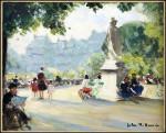 French Park Scene