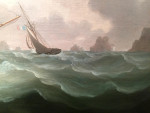 Off the coast of England