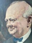 Portrait of Sir Winston Churchill