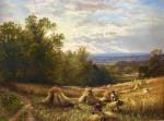 English Harvest Scene
