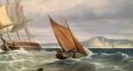 Shipping scene of the English Coast
