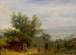 Extensive English rural landscapes