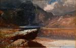 Scottish Highland Loch scene
