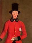 Portrait of a 19th Century postman