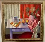 1950's English interior scene