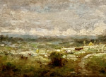 French mid 19th century landscape