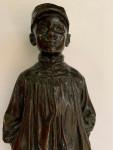 Bronze of a boy, 19th century Spanish