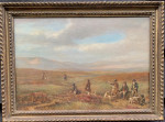 Set of Four early 19th century English shooting paintings