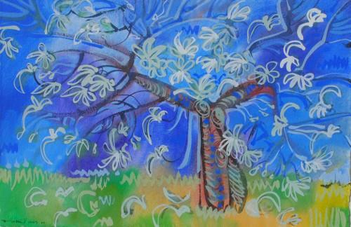 The Blue Tree, Lodi Garden, Delhi