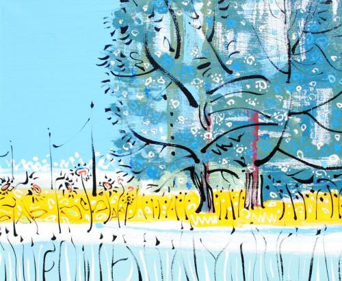 Walnut Trees at Les Pailles