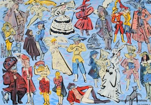 Comedie Italienne - Venice carnival