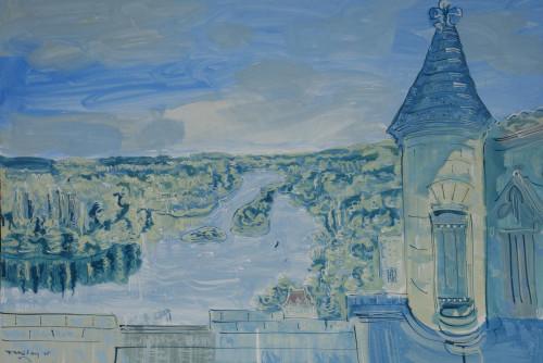 Amboise towards the Loire