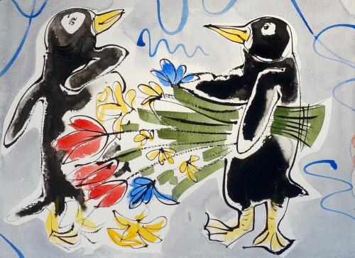 Pour Nous    Valentine Penguin