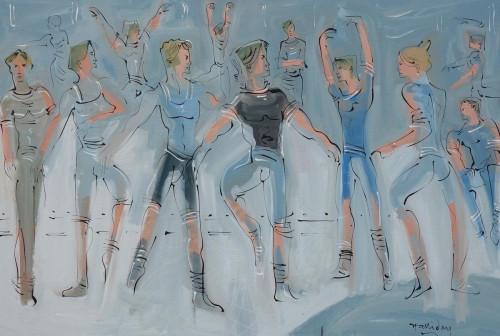 Les Ballets de Monte Carlo, Rehearsal