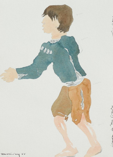 'After Goya, 'The Urchin''