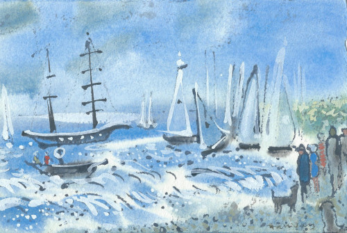 Racing at Cowes II