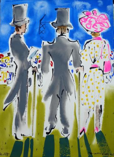 Ascot Ladies Day, II
