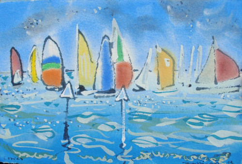'Racing at Cowes I'