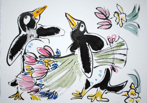 Pour moi? Valentine Penguin