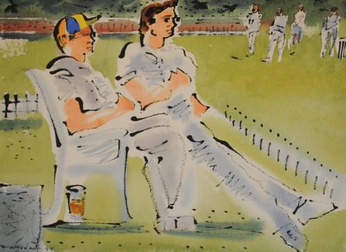 Cricket at Kew