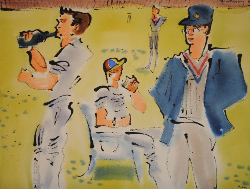 'Cricket at Kew II'