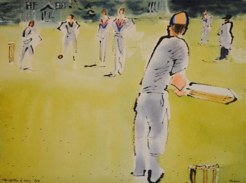 'Cricket at Kew IV'