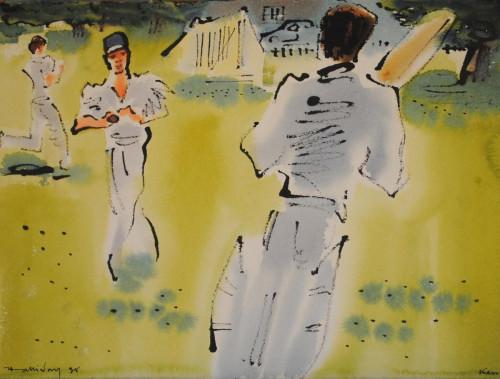 'Cricket at Kew III'