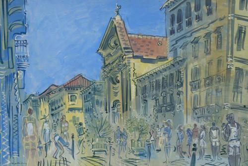 The Church at Cours Saleya, Nice