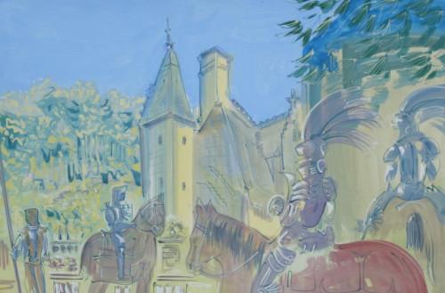 Jousts at Chateau du Rivau