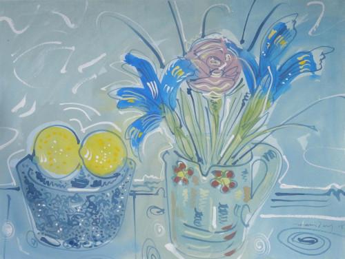 Iris and Lemons