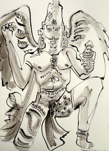 Indian Deity, X