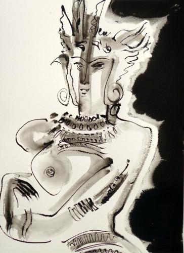 Indian Deity, IX