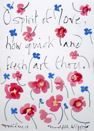 Shakespeare Valentine  XI O spirit of Love... Twelfth Night