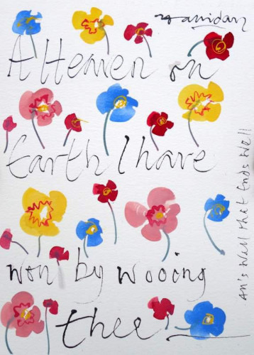 Shakespeare Valentine XIII, A Heaven on earth..