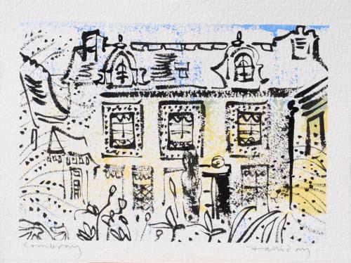 Le Jardin de Tante Leonie, dessin, 19cm x 29cm.