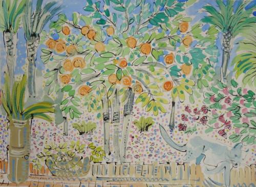 Villa Oasis, Citrus Garden II, Jardin Majorelle