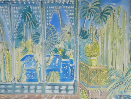The Studio, Jardin Majorelle