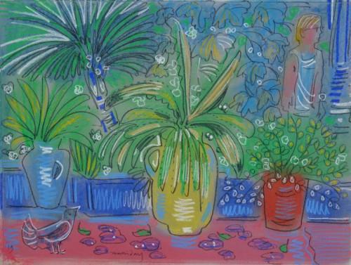 Yellow Pot at Jardin Majorelle