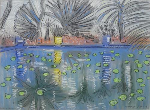 Reflecting pool at Jardin Majorelle I