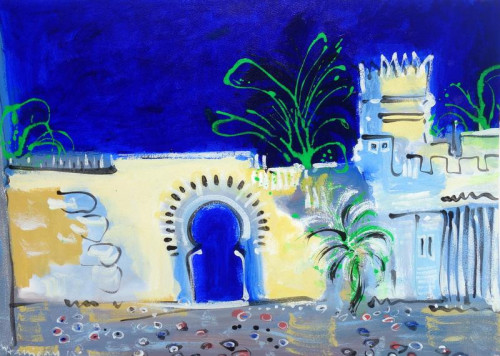 The Kasbah gate, Tangier