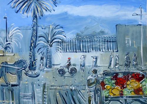 Fruit stall in Marrakesh