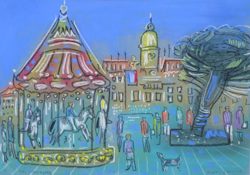Carrousel at St. Tropez,