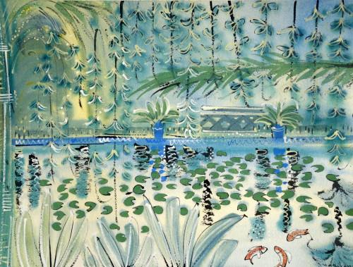 Reflecting  Pool at Jardin Majorelle