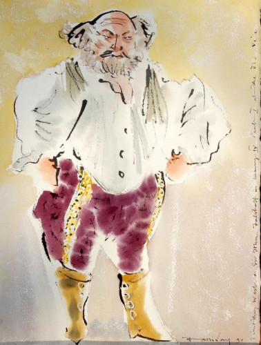 Timothy West as Falstaff, The Old Vic 1997