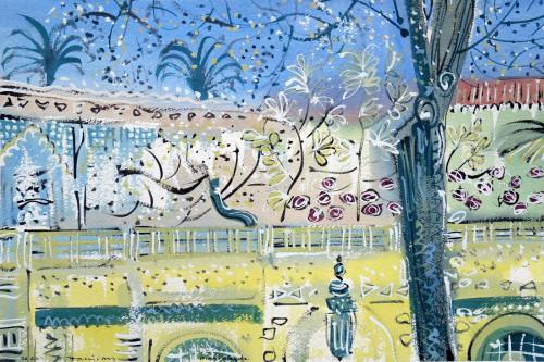 The Terrace, Jardin Majorelle