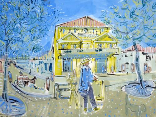 Van Gogh in Arles, the Yellow House II
