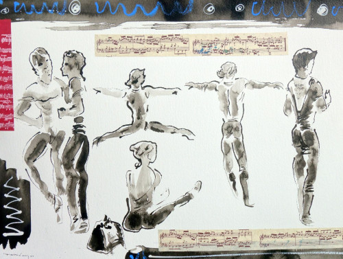 'Rehearsal Collage'