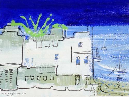 The Atlantic from Tangier Kasbah