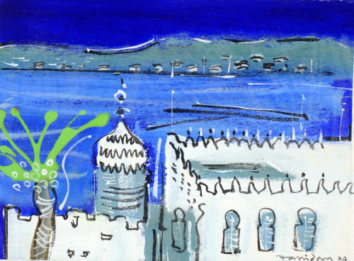 The Straits from Tangier