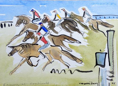 Fontwell Races 1985.